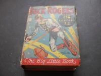 BUCK ROGERS 25th CENTURY A.D.No. 742- Lt. Dick Calkins-WHITMAN PUB.-1933 Book.