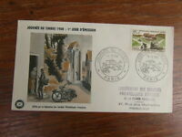 1 x FDC ENVELOPPE PREMIER JOUR 15/03/1958 JOURNEE DU TIMBRE PARIS