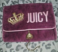Juicy Couture Traveling Toiletry, Make Up, Jewelry, Travel Bag With Hook