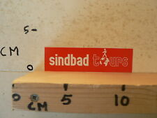 STICKER,DECAL SINDBAD TOURS WORLD