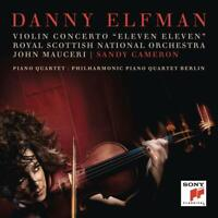 "VIOLIN CONCERTO ""ELEVEN ELEVEN""/PIANO QUARTET - CAMERON,S./ELFMAN, D./+ CD NEUF"