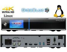 Gigablue UHD Quad 4K 2xDVB-S2 FBC ULTRA HD E2 Linux Receiver