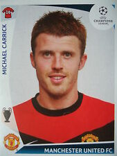Panini 84 Michael Carrick Manchester United UEFA CL 2009/10