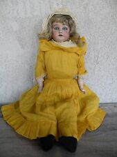 """Antique Armand Marseilles 23 1/2"""" long Bisque Doll Marked 3200 ~ as is"""