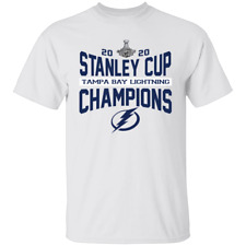 Men's Tampa Bay Lightning Stanley Cup Champions 2020 T-Shirt S-4XL