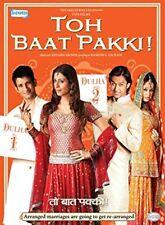 Toh Baat Pakki ! (Hindi DVD) (2010) (English Subtitles) (Brand New Original DVD)