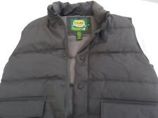Men's Cabela's Premier Northern Goose Down Green Vest Size M
