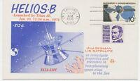GERMANY / USA 1976 HELIOS-B 2nd GERMAN U.S. SATELLITE postmark CAPE CANAVERAL FL