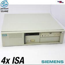 SIEMENS NIXDORF PCD-5H 4xISA SLOT AT COMPUTER PC INTEL PENTIUM WINDOWS 95 98 DOS