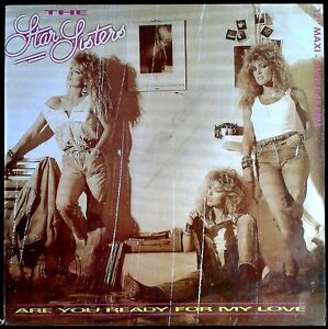 "The Star Sisters - Are You Ready For My Love - Spain MAXI SINGLE 12"" CNR 1984"