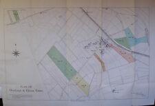 1914 DRUMBURGH & GLASSON CUMBERLAND PLAN MAP ESTATE SALE OF DIXON PATTINSON LAND