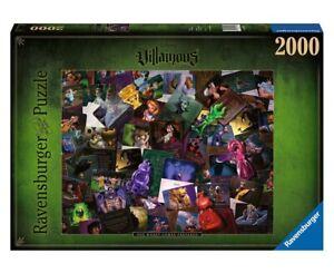 NEW! Ravensburger Disney Villainous The Worst Comes Prepared 2000pc Puzzle