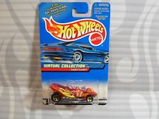 2000 HOT WHEELS ''VIRTUAL COLLECTION'' #112 = TURBO FLAME = RED  g5sp ,0910