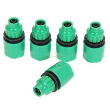 """5Pcs/Set Plastic Garden Hose Water Pipe Connector Tube Tap Adapter 1/4"""" 3/8"""""""