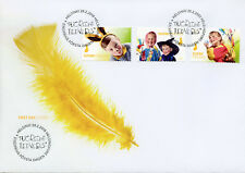 Finland 2018 FDC Easter Eggs Fresh & Healthy 3v S/A Set Cover Stamps