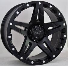 Suciedad D66 9x17 6x114, 3 LLANTAS + Neumáticos BF GOODRICH KO2 265/65/17