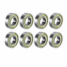 8 Pack Abec-7 Sovereign 10mm Longboard Skateboard Wheel Bearings fits 10mm Axle