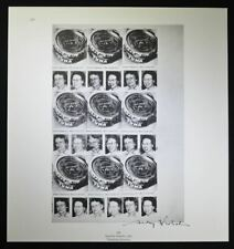 "Andy Warhol, Hand Signed Print ""Tunafish Disaster"" (multiple small prints), COA."