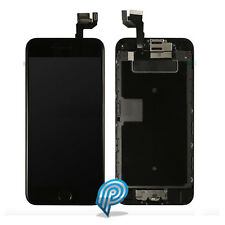 Original Apple iPhone 6S Black LCD Digitizer +  Home Button, Camera Earpiece OEM