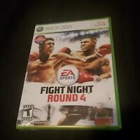 Fight Night Round 4 (Microsoft Xbox 360, 2009). Brand New & Factory Sealed.