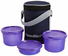 SIGNORAWARE EXECUTIVE LUNCH BOX WITH BAG (MEDIUM) (516) PURPLE COLOR