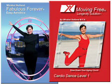 Cardio Dance DVDs Set  of Two Burn Calories by Mirabai Holland Level 1