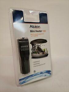Aqueon Mini Fish Tank Heater 10 Watts Black