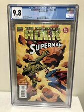 The Incredible Hulk vs. Superman CGC 9.8 Steve Rude DC Marvel 1999