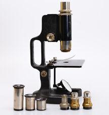 Antikes Mikroskop Emil Busch A.G. Rathenow Nr 8833 *Bierseidel um 1900 (S739)