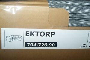 New Ikea EKTORP cover set for Corner sofa 4 seat Remmarn light grey