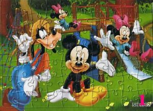 Hot New Disney 40 Pieces Mikey Mouse Jigsaw Puzzle Best Gifts for Kids - 1#