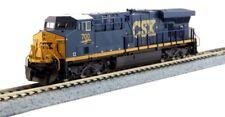 New Kato (Dark Future, Blue, Yellow) N GE ES44AC GEVO, CSX #700 Locomotive 17...