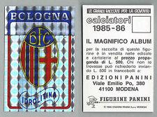 NUOVI//NEW N.598 OMEGNA//ORCEANA SCUDETTI CALCIATORI PANINI 1985//86