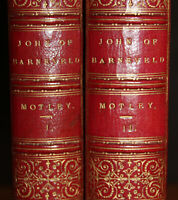 1875 The Life and Death of John of Barneveld 2 Vols MOTLEY Sotheran Fine Binding