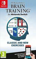 Dr Kawashima's Brain Training Nintendo Switch Brand New Region Free