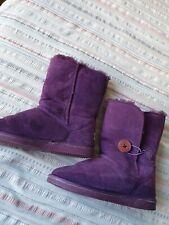 Genuine Uggs Purple Size 3