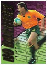 1996 Futera Rugby Union NO BARRIERS (NB1) Jason LITTLE Sample