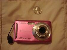 Casio Exilim EX-Z9 Digital Camera 8.1 MP Pink digi cam package 2 batteries