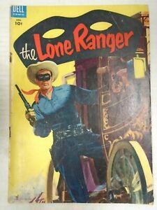 Dell THE LONE RANGER #82 (1955) Jud Jackson's Plan, Hank Hartman, Tom Gill
