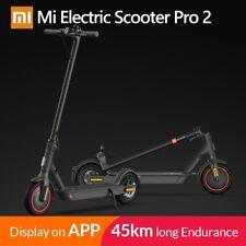 2020 Xiaomi Mi Scooter Pro 2 E-Scooter Luftreifen Anthrazit  Faltbare EU Version