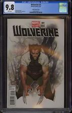 WOLVERINE #1 (2013 Marvel Comics) CGC 9.8 NM/M WHITE PAGES Coipel 1:50 Variant