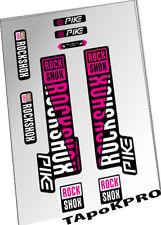 2018 New Custom RockShox Pike fork glossy lamination stickers decals