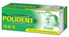 POLIDENT Denture Adhesive Cream 20g-Just Three Drops Provide Strong All-Day Hold