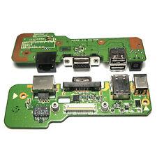 Genuine DELL INSPIRON 1545 DC POWER JACK USB RJ45 VGA CHARGING BOARD 00829