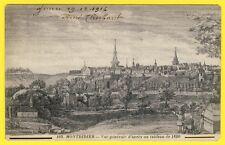 cpa 80 - MONTDIDIER (Somme) Vue Générale d'après un Tableau de 1690