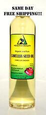 CAMELLIA/CAMELIA SEED OIL by H&B Oils Center ORGANIC COLD PRESS 100% PURE 8 OZ