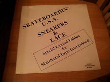 Skateboardin USA Sneakers & Lace SPECIAL LE FOR SKATEBOARD EXPO BRAND NEW SEALED