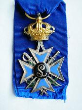 Belgien Orden 1895 Leopold II.  Enfants de Troupe =  Kindertruppen !!