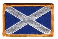 SCOTLAND SCOTTISH FLAG PATCHES COUNTRY PATCH BADGE IRON ON NEW EMBROIDERED