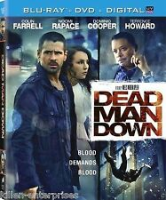 Dead Man Down (Blu-ray/DVD, 2013, 2-Disc Set, NO Digital Copy)